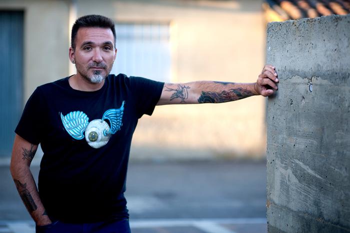 Santos M. Perandones en una foto de Jr Vega.