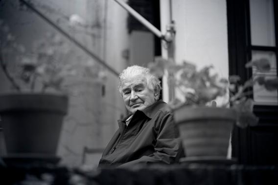 Antonio Gamoneda. © Fotografía de José Ramón Vega.