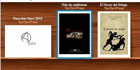 Los tres primeros libros digitales de la Biblioteca TAM TAM PRESS.