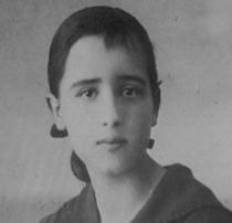 La filósofa María Zambrano, en una fotografía de juventud.