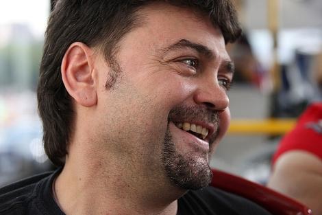 El director de cine leonés Manolo González.