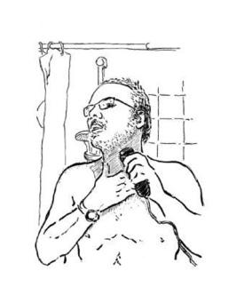 Dibujo de Avelino Fierro.