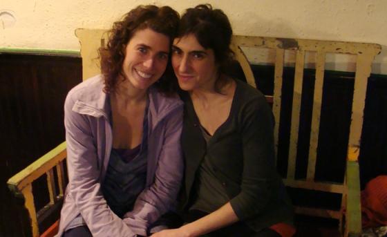 Cristina Martínez y Neysa Navarro.
