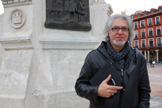 Jacinto Gómez, productor de la compañía de teatro Rayuela.