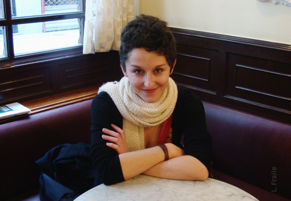 María San Miguel, codirectora del Proyecto 43-2. Foto: L.Fraile.