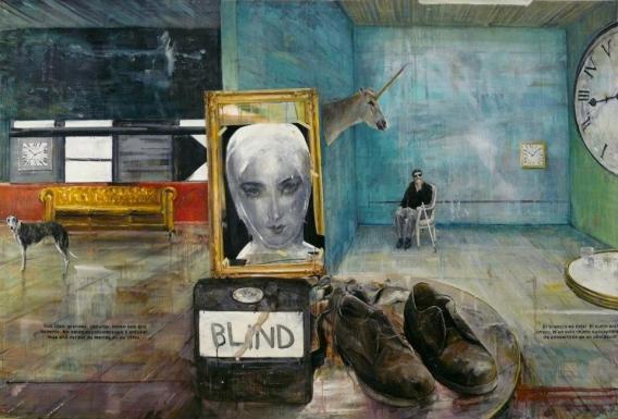 gruber- blind