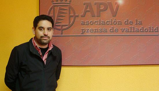 Jorge Francés, Presidente la Asociación de la Prensa de Valladolid. Foto: L. Fraile.