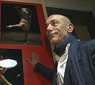 Alberto Estébanez, director del Ballet Contemporáneo de Burgos.