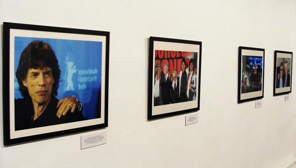 La exposición 'Rolling Stones 50 fotos/50 años'. Foto: L. Fraile.