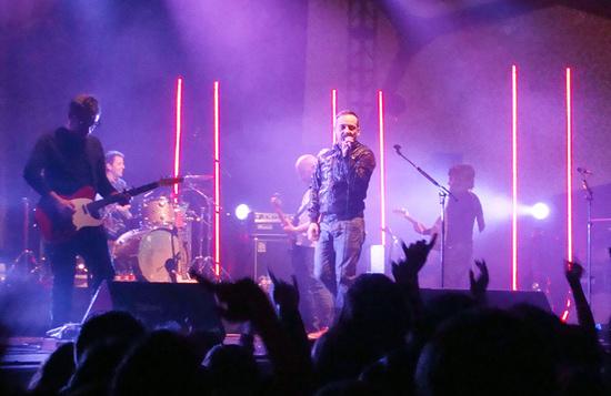 Love of Lesbian inauguraron el sábado, 23 de febrero, el Valladolindie con casi tres horas de concierto. Foto: L. Fraile.