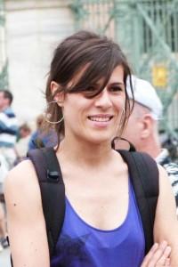 Natalia Méndez, una de las organizadoras. Foto: T. Llera.