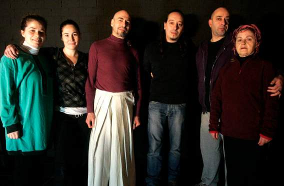 Compañía de teatro 'La Foca Monje', dirigida por Javier R. de la Vega. Foto: Carlos S. Campillo.