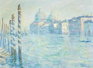 Elmyr de Hory al estilo de Monet. Colección particular.