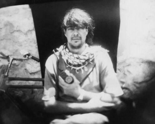 Imagen de JM López retratado hace unos años en uno de sus viajes a Afganistán.