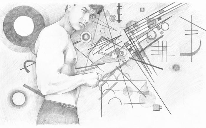 Dibujo de la artista berciana Silvia Prada