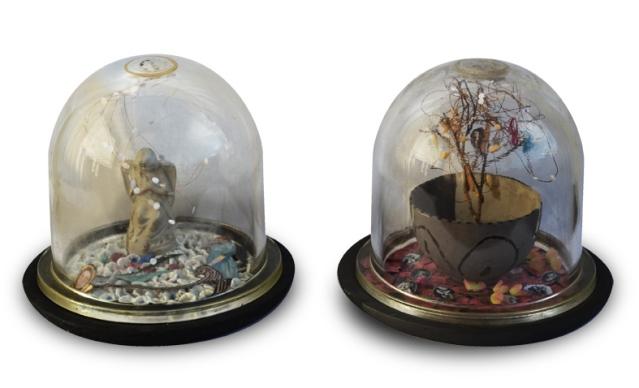 Bolas de nieve. Dos obras de Teresa Gancedo.