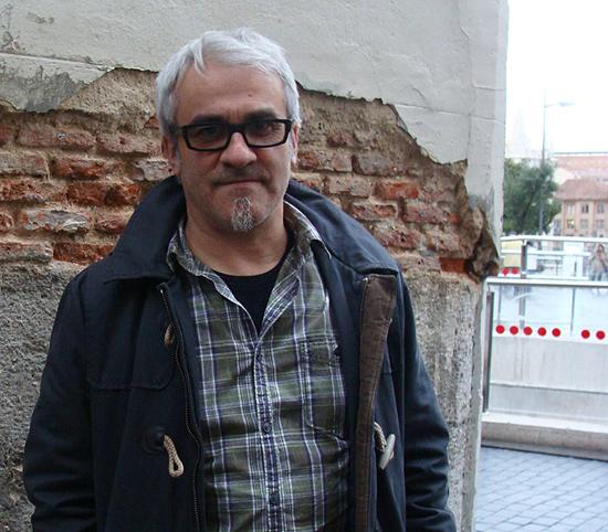 Carlos Tapia, protagonista de la obra `Bruno XXI´ de Azar Teatro. Foto: L. Fraile.