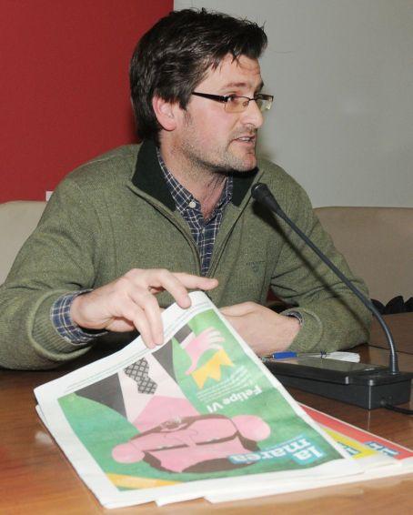 El redactor y socio de La Marea, Thilo Schäfer. Foto: Carlos Arranz.