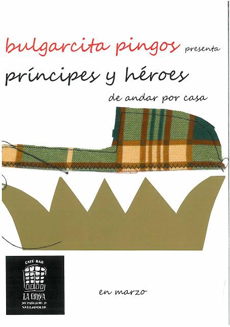 Cartel de la exposición de Bulgarcita Pingos.