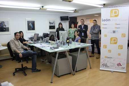 Imagen del equipo que forma parte de la redacción de LeónDirecto.
