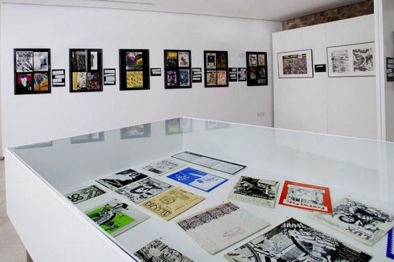Algunos de los fanzines expuestos en el Centro e-Lea Miguel Delibes. Foto: Juan B. Hormaechea.