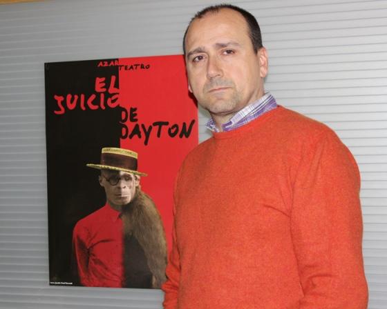 Javier Esteban, director de la compañía Azar Teatro. Fotografía: Magdalena Alejo.