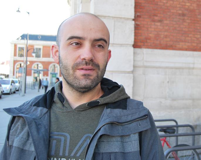 Raúl Escudero, músico y actor. Fotografía: Isaac Macho.