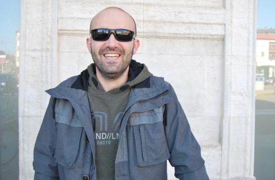 Raúl Escudero, actor y músico. Fotografía: Isaac Macho.