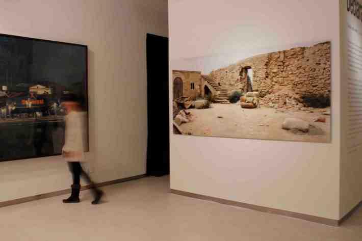 Una imagen de la exposición 'Declaración de ruina' en la Fundación Cerezales.