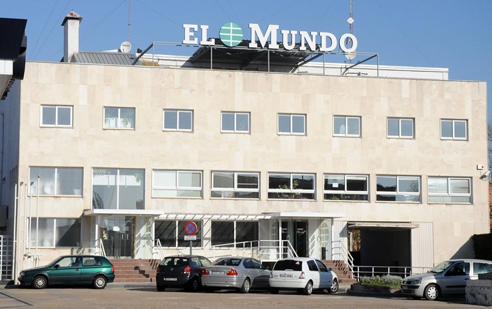 Fachada de la sede de El Mundo en Valladolid. Fotos: Carlos Arranz.