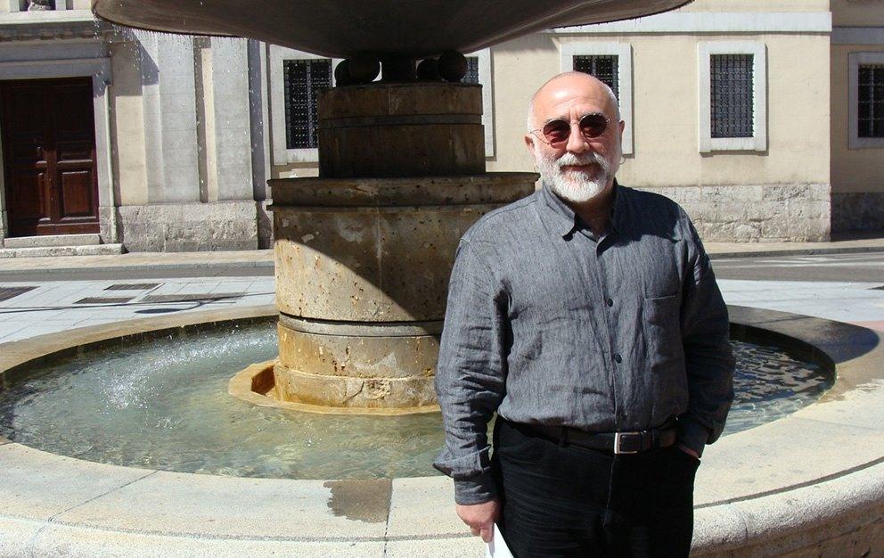 El artista Manuel Sierra inaugurará en mayo dos exposiciones en Valladolid y una en Zamora. Foto: L. Fraile.
