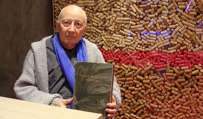 José Noriega, editor de 'El gato gris'. Foto: L. Fraile.