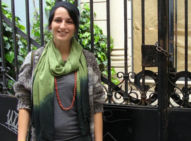 La vallisoletana Carmen Alonso. Foto: Laura Fraile.