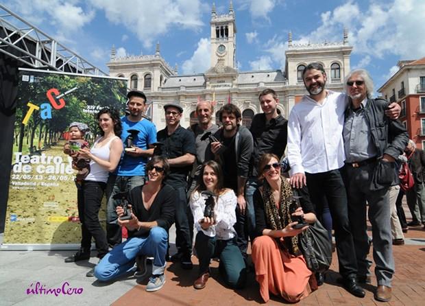 Los premiados del Tac 2013. Foto: Carlos Arranz.