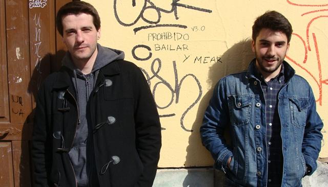 Juan de Bonrostro y Germán Rodríguez, organizadores del Festival Vérai. Foto: L. Fraile.