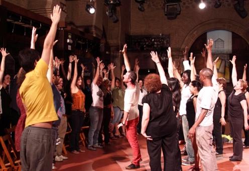 La propuesta escénica 'Barrios Nómadas'. Foto: Nuevo Teatro Fronterizo.