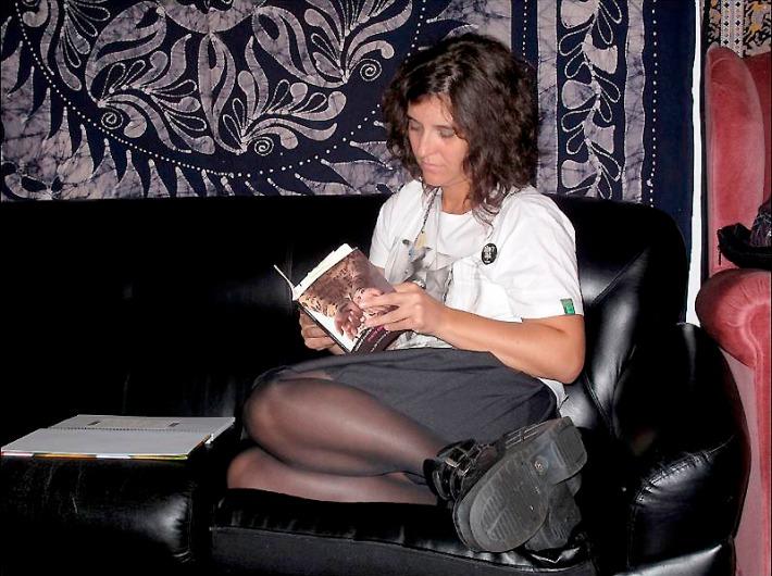 La escritora María Castrejón. Foto: Crónica.