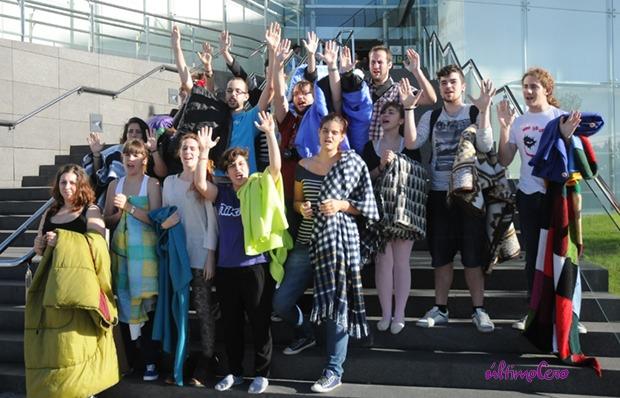 Los alumnos de la ESADCyL ponen fin a su encierro tras 50 días. Foto: Carlos Arranz.