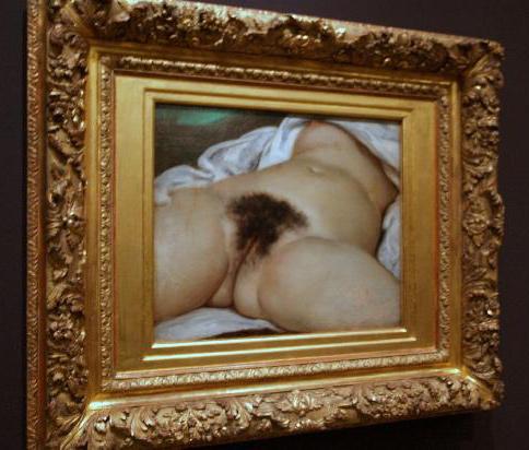 'El origen del mundo', óleo sobre lienzo de Gustave Courbet (1866).