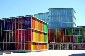 Museo de Arte Contemporáneo de Castilla y León (Musac), en León.