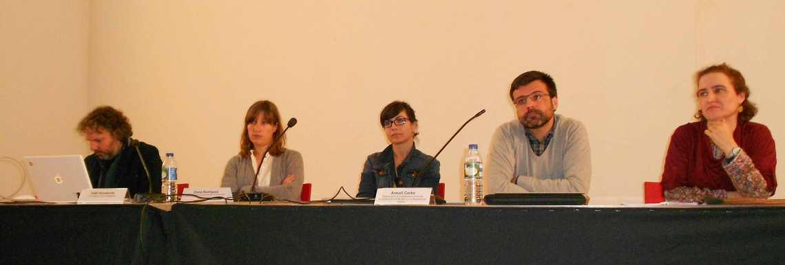 Iñaki Arredondo, Elena Rodríguez, Sonia López, Javier Pantoja y Ana Álvarez.