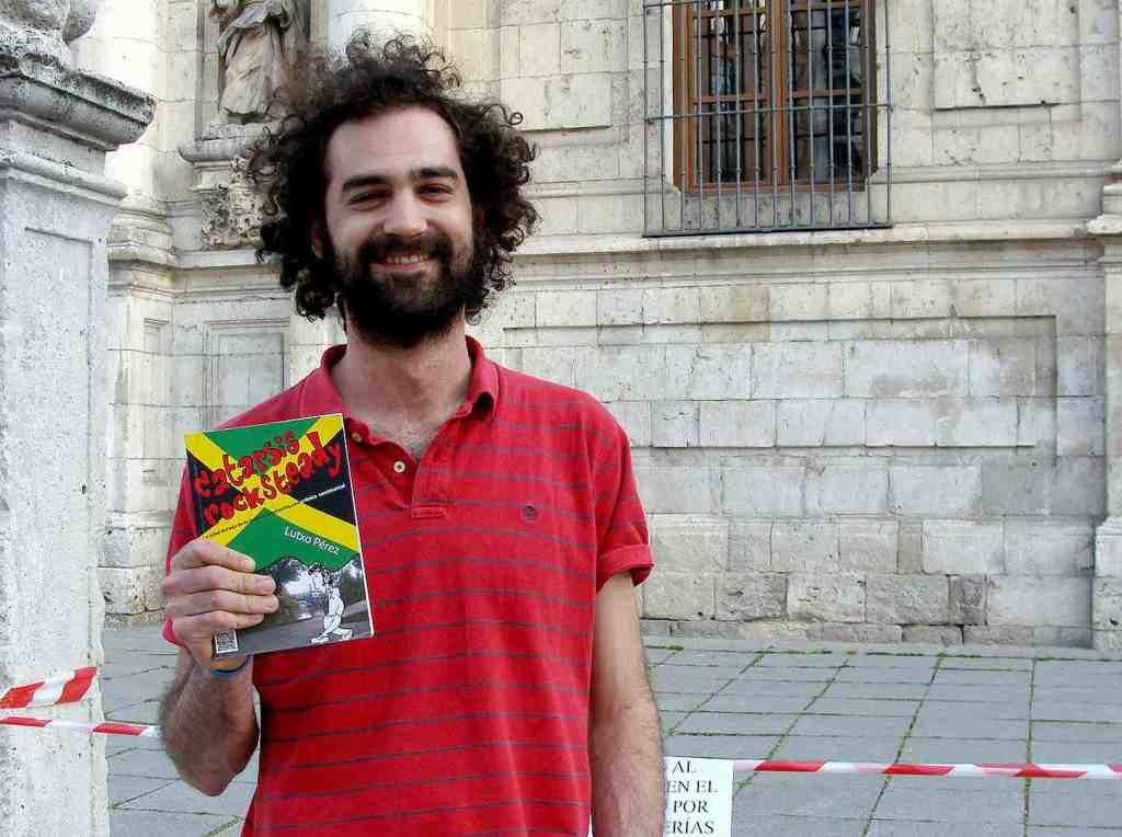 El periodista Lutxo Pérez. Foto: L. Fraile.