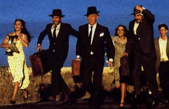 'El viaje a ninguna parte', cartel de la película de Fernando Fernán-Gómez.