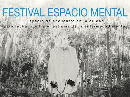 Cartel del I Festival Espacio Mental.