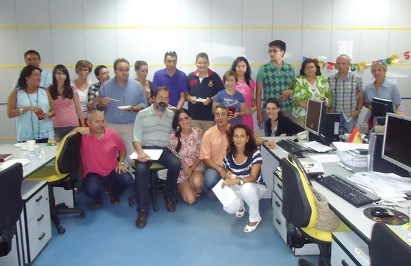 Celebración del 50 cumpleaños de Joaquín Revuelta.