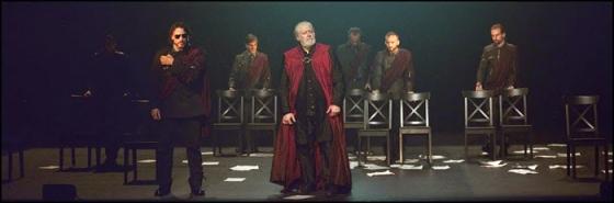 'Julio César', de W. Shakespeare. Compañía: Metaproducciones. Se verá este viernes, 19 de julio, en la Corrala Palacio del Caballero.