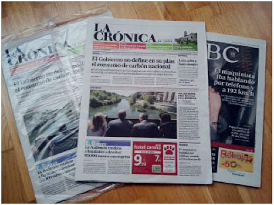 """(""""Último número de La Crónica. A Dios gracias, no veía el momento"""". P. L.)"""