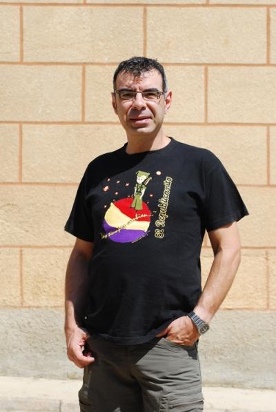Raúl Gómez, ex director del FETAL, Festival de Teatro Alternativo de Urones de Castroponce (Valladolid). © Fotografía: Tor.