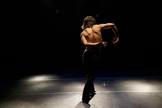 Actuación de la pasada edición del Certamen Internacional de Coreografía Burgos-Nueva York. Foto: Gerardo Sanz.