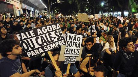 Manifestaciones pacíficas, en Brasil, de sindicatos y asociaciones populares   Reuters